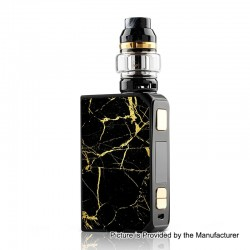 Authentic CoilART LUX 200W TC VW Variable Wattage Box Mod + LUX Mesh Tank Kit - Black, 5~200W, 2 x 18650, 5.5ml