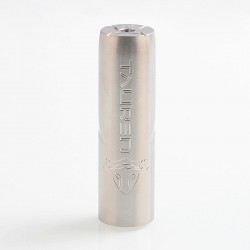 Authentic ThunderHead Creations THC Tauren Mechanical Mod - Silver, Stainless Steel, 1 x 18650 / 20700 / 21700