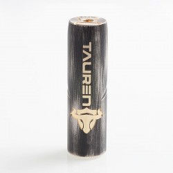 Authentic ThunderHead Creations THC Tauren Mechanical Mod - Grey, Brass, 1 x 18650 / 20700 / 21700