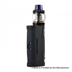 Authentic Vapor Storm Puma Baby 80W TC VW Box Mod + Hawk Tank Kit - Black, 5~80W, 1 x 18650, 6ml, 0.2 Ohm