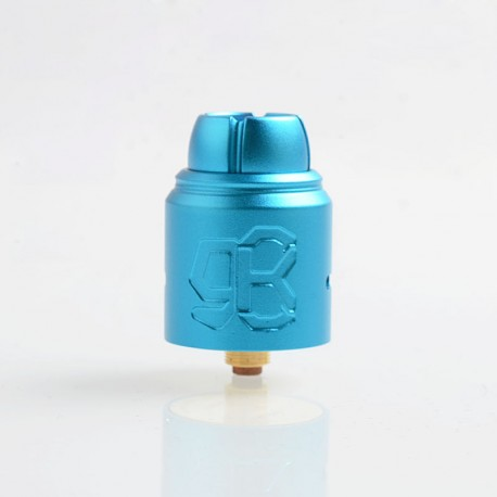 Authentic Lcovape 98K RDA Rebuildable Dripping Atomizer w/ BF Pin - Blue, Aluminum + 316 Stainless Steel, 24.5mm Diameter