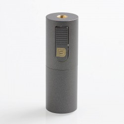 Vapeasy Mini B MiniB Style Mechanical Tube Mod - Gun Metal, Brass, 1 x 18650