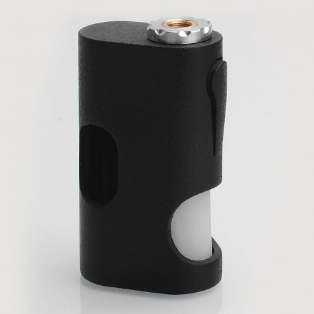 ASAP Style Bottom Feeder Squonk Mechanical Box Mod - Black, ABS, 1 x 18650