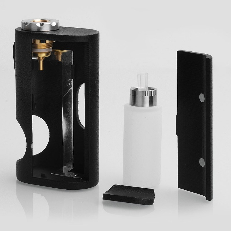 Buy ASAP Style Black ABS 18650 BF Squonking Mechanical Box Mod