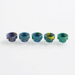 810 Replacement Drip Tip for Goon / Kennedy / Reload / Battle RDA - Random Color, Resin, 11mm