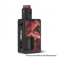 Authentic Vandy Vape Pulse X 90W TC VW Squonk Box Mod + Pulse X BF RDA Kit - Red Pomegranate, 5~90W, 1 x 18650 / 20700 / 21700