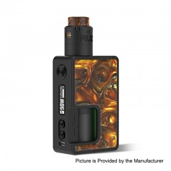 Authentic Vandy Vape Pulse X 90W TC VW Squonk Box Mod + Pulse X BF RDA Kit - Golden Agate, 5~90W, 1 x 18650 / 20700 / 21700