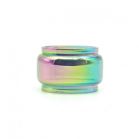 Authentic Vapesoon Replacement Bubble Glass Tank Tube for SMOK TFV8 Baby V2 Tank - Rainbow, 5ml