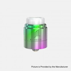 Authentic Vandy Vape Widowmaker RDA Rebuildable Dripping Atomizer w/ BF Pin - 7-Color, Stainless Steel, 24mm Diameter