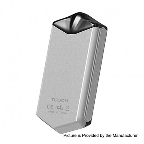Authentic Asvape Touch 12W 500mAh Pod System Starter Kit - Silver, 1.5ml, 1.6 Ohm
