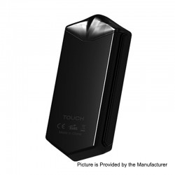 Authentic Asvape Touch 12W 500mAh Pod System Starter Kit - Black, 1.5ml, 1.6 Ohm