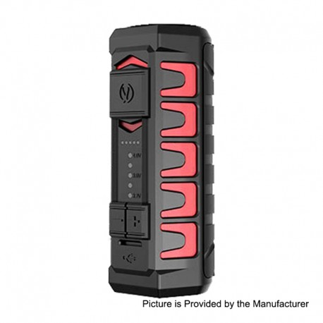 Authentic Vandy Vape AP Apollo 20W 900mAh VV Variable Voltage Box Mod - Frosted Red, 3.2~4V
