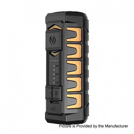 Authentic Vandy Vape AP Apollo 20W 900mAh VV Variable Voltage Box Mod - Frosted Amber, 3.2~4V