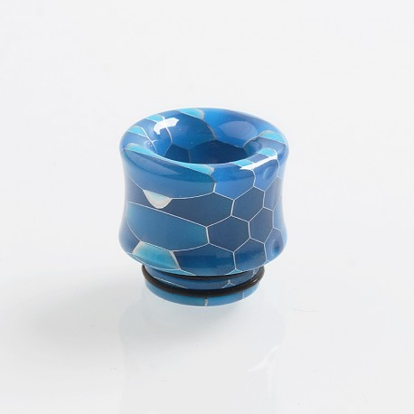 810 Replacement Drip Tip for TFV8 / TFV12 Tank / Goon / Kennedy / Reload RDA - Blue, Resin, 18mm, Glow-in-the-Dark