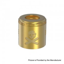 Authentic Vandy Vape Replacement Airflow Cap for Bonza Kit / Bonza V1.5 RDA - Brass, Brass