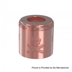 Authentic Vandy Vape Replacement Airflow Cap for Bonza Kit / Bonza V1.5 RDA - Copper, Copper