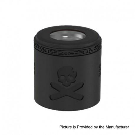 Authentic Vandy Vape Replacement Airflow Cap for Bonza Kit / Bonza V1.5 RDA - Matte Black, Stainless Steel