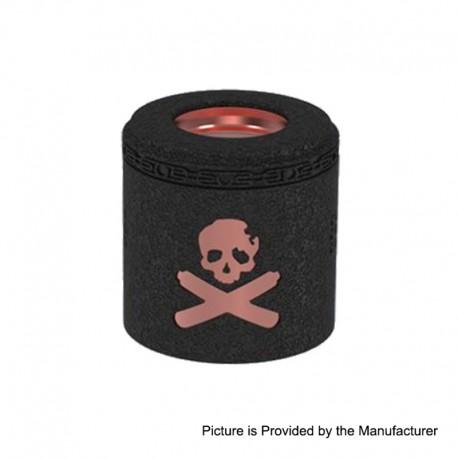 Authentic Vandy Vape Replacement Airflow Cap for Bonza Kit / Bonza V1.5 RDA - Copper Wrinkle Painted Black, Copper