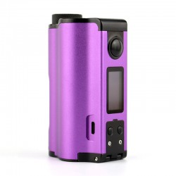 Authentic Dovpo Topside Dual 200W TC VW Variable Wattage Squonk Box Mod - Purple, 5~200W, 2 x 18650, 10ml