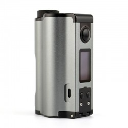 Authentic Dovpo Topside Dual 200W TC VW Variable Wattage Squonk Box Mod - Gun Metal, 5~200W, 2 x 18650, 10ml