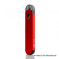 Authentic Eleaf Elven 15W 360mAh Pod System Starter Kit - Red, 1.6ml, 1.6 Ohm