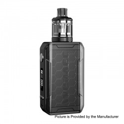 Authentic Wismec SINUOUS V200 200W TC VW Box Mod + Amor NSE Tank Kit - Black, 1~200W, 2 x 18650, 3ml, 0.27 / 1.3 Ohm