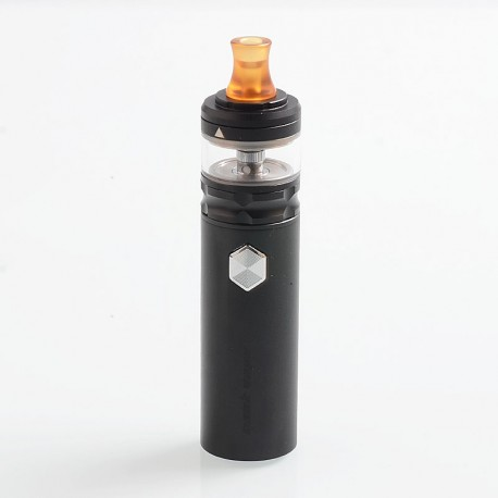 Authentic GeekVape Flint 1000mAh All in One Portable MTL Starter Kit - Black, 1.6 Ohm, 22mm Diameter