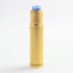Authentic Vandy Vape Bonza Hybrid Mechanical Mod + V1.5 RDA Kit - Brass, 1 x 18650 / 20700 / 21700