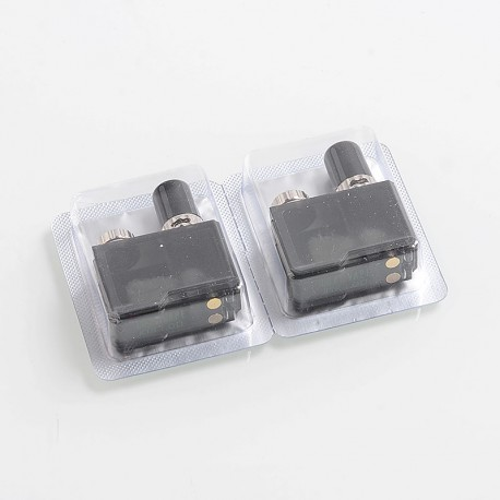 Authentic Lost Vape Replacement KTR Pod Cartridge for Orion Q Pod System Kit - 2ml, 1.0 Ohm (2 PCS)