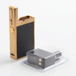 Authentic Lost Vape Orion Q 17W 950mAh Pod System Starter Kit - Gold Weave, 2ml, 1.0 Ohm