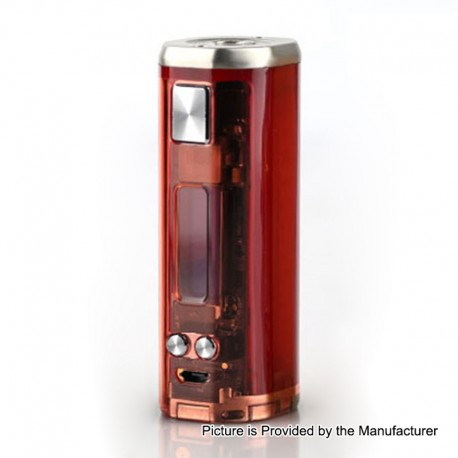 Authentic Wismec SINUOUS V80 80W TC VW Variable Wattage Box Mod - Red, 1~80W, 1 x 18650