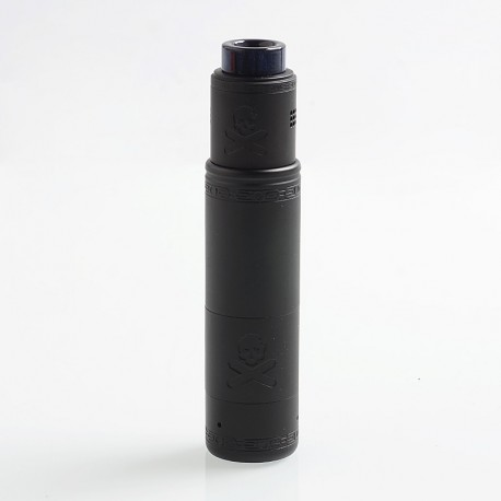 Authentic Vandy Vape Bonza Hybrid Mechanical Mod + V1.5 RDA Kit - Copper Matte Black, 1 x 18650 / 20700 / 21700