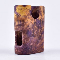 ShenRay Replacement Stabilized Wood Chassis for Armor Squonk Box Mod - Grand Dynasty