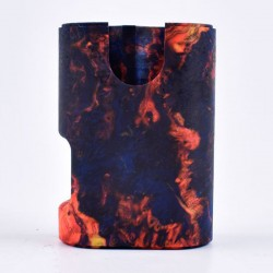 ShenRay Replacement Stabilized Wood Chassis for Armor Squonk Box Mod - Mysterious Flame