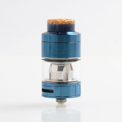 Authentic Hellvape Hellbeast Sub Ohm Tank Clearomizer - Blue, Stainless Steel, 4.3ml, 24mm Diameter