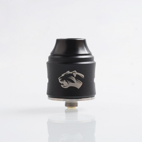 Authentic OBS Cheetah 3 III RDA Rebuildable Dripping Atomizer w/ BF Pin - Black, Stainless Steel, 25mm Diameter