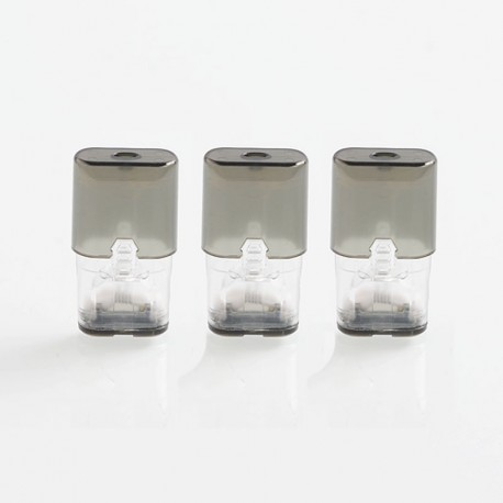 Authentic Suorin Replacement Pod Cartridge for iShare / iShare Single Pod System Kit - 0.9ml, 2.0 Ohm (3 PCS)