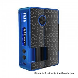 Authentic Blitz Vigor 81W TC VW Variable Wattage Squonk Box Mod - Black, 5~81W, 1 x 18650 / 20700, 10ml