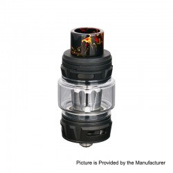 Authentic Horizon Falcon King Sub Ohm Tank Clearomizer - Carbon Black, 6ml, 0.38 / 0.16 Ohm, 25.4mm Diameter