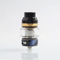 Authentic CoilART LUX Sub Ohm Tank Clearomizer - Black, Resin + Stainless Steel, 5.5ml, 0.15 Ohm, 25mm Diameter