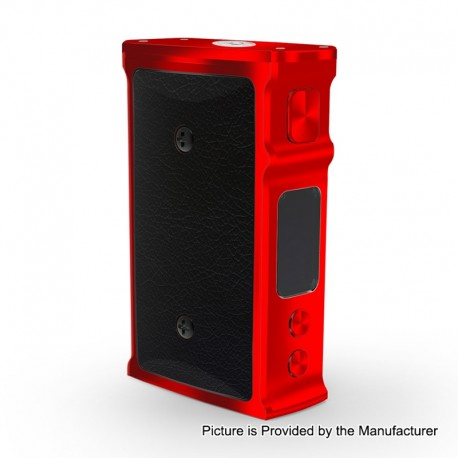 Authentic Blitz M1911 200W TC VW Variable Wattage Box Mod - Red, 5~200W, 2 x 18650