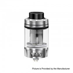 Authentic Blitz Versus Sub Ohm Tank Clearomizer - Silver, 5.5ml, 0.15 Ohm, 26mm Diameter
