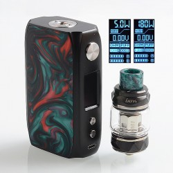 Authentic IJOY Shogun Univ 180W TC VW Variable Wattage Box Mod + Katana Tank Kit - Splendor, 1~180W, 2 x 18650, 5.5ml
