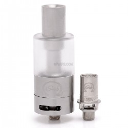 Authentic Innokin iTaste iSub Sub ohm Tank Clearomizer - Transparent, Stainless Steel + PC, 4mL, 0.5 ohm