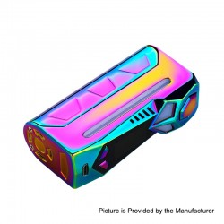 Authentic Yosta Livepor 100W TC VW Variable Wattage Box Mod - Rainbow, 5~100W, 1 x 18650 / 20700 / 21700