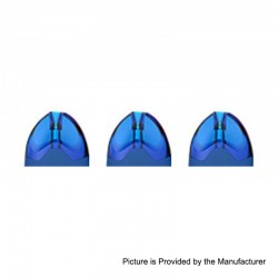 Authentic Tesla Teslacigs Replacement Pod Cartridge for WYE Pod System Kit - Blue, 2ml, 1.2 Ohm (3 PCS)
