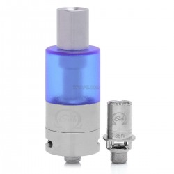 Authentic Innokin iTaste iSub Sub ohm Tank Clearomizer - Blue, Stainless Steel + PC, 4mL, 0.5 ohm