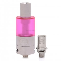 Authentic Innokin iTaste iSub Sub ohm Tank Clearomizer - Red, Stainless Steel + PC, 4mL, 0.5 ohm