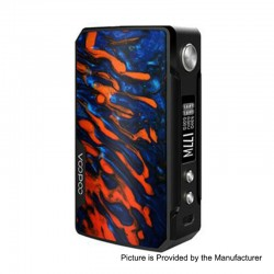 Authentic Voopoo Drag 2 177W TC VW Variable Wattage Box Mod - B-Flame, Zinc Alloy + Resin, 5~177W, 2 x 18650