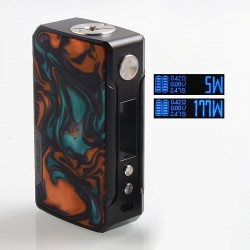 Authentic Voopoo Drag 2 177W TC VW Variable Wattage Box Mod - B-Dawn, Zinc Alloy + Resin, 5~177W, 2 x 18650